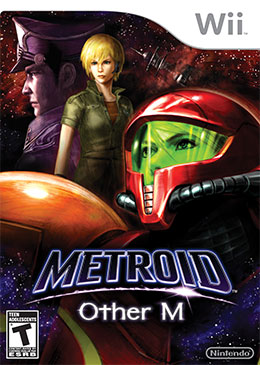 Metroid: Other M - US Box Art