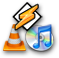 WinAmp, VLC, iTunes, etc. Playlist File