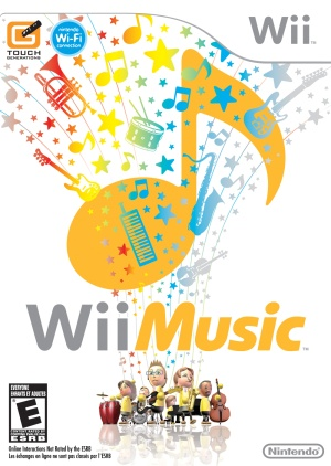 WiiMusic Box Art