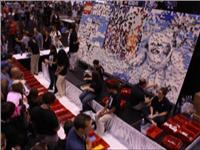 15-foot wide LEGO mystery mural